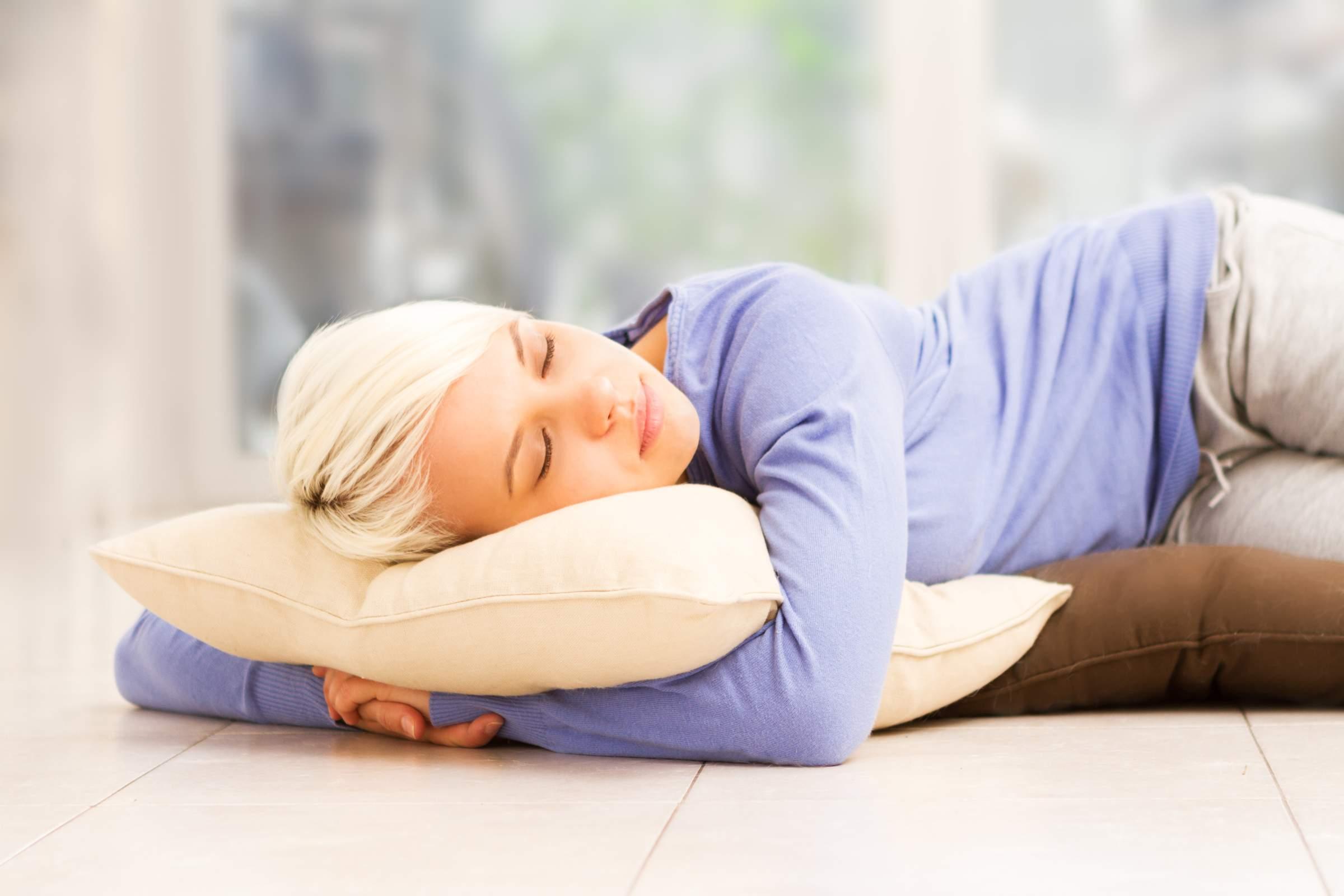 Should you sleep on the floor?